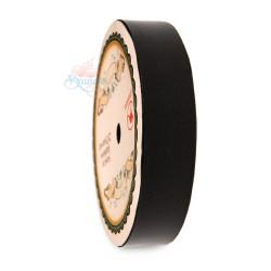 19MM Solid PP Fancy Ribbon Plain Black - 1 Roll