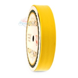 19MM Solid PP Fancy Ribbon Plain Yellow - 1 Roll