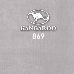 Kangaroo Premium Voile Scarf Tudung Bawal White Grey