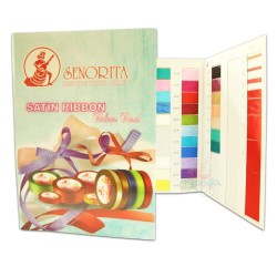 #1 Senorita Satin Ribbon & PP Ribbon (Full Colour Catalogue)