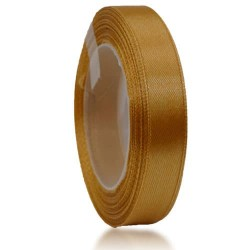 12mm Senorita Satin Ribbon - Dark Goldenrod 03