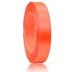 12mm Senorita Satin Ribbon - Coral 08