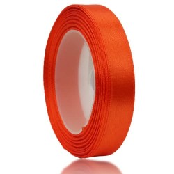 12mm Senorita Satin Ribbon - Dark Orange 116