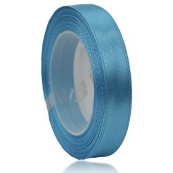 12mm Senorita Satin Ribbon - Sky Blue 22