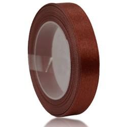 12mm Senorita Satin Ribbon - Chestnut 225