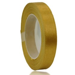 12mm Senorita Satin Ribbon - Khaki 246