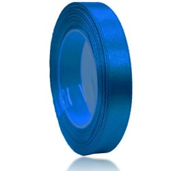 12mm Senorita Satin Ribbon - Electric Blue 25