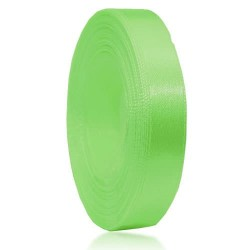 12mm Senorita Satin Ribbon - Apple Green 250