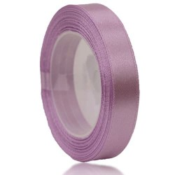 12mm Senorita Satin Ribbon - Light Lilac 255