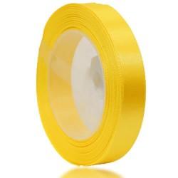 12mm Senorita Satin Ribbon - Yellow 3