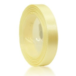12mm Senorita Satin Ribbon - Butter Milk 51