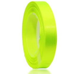 12mm Senorita Satin Ribbon - Grass Green 535