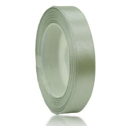 12mm Senorita Satin Ribbon - Light Grey 77