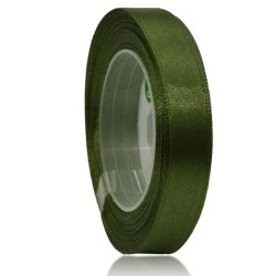 12mm Senorita Satin Ribbon - Dark Forest A09