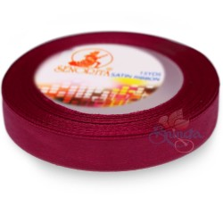 12mm Senorita Satin Ribbon - Red Wine 29