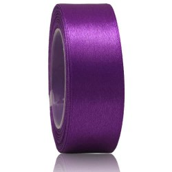 24mm Senorita Satin Ribbon - Purple 014