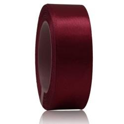24mm Senorita Satin Ribbon - Maroon 028