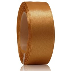 24mm Senorita Satin Ribbon - Dark Goldenrod 03