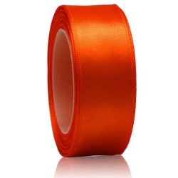24mm Senorita Satin Ribbon - dark Orange 116