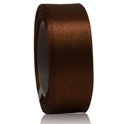 24mm Senorita Satin Ribbon - Chestnut 225