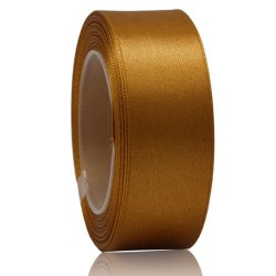 24mm Senorita Satin Ribbon - Classic Gold 226