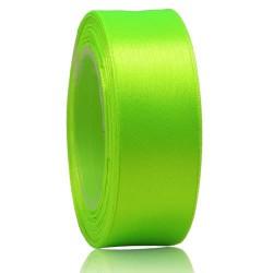 24mm Senorita Satin Ribbon - Neon Green 236