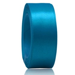 24mm Senorita Satin Ribbon - Dress Blue 24