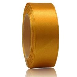 24mm Senorita Satin Ribbon - Moon Yellow 245