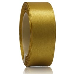 24mm Senorita Satin Ribbon - Khaki 246