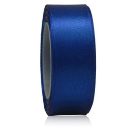 24mm Senorita Satin Ribbon - Electric Blue 25
