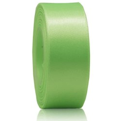 24mm Senorita Satin Ribbon - Apple Green 250