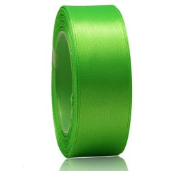 24mm Senorita Satin Ribbon - Bright Green 251