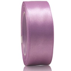 24mm Senorita Satin Ribbon - Light Lilac 255
