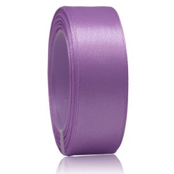 24mm Senorita Satin Ribbon - Light Orchid 42