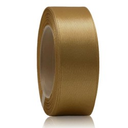 24mm Senorita Satin Ribbon - Espresso 5140