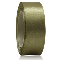 24mm Senorita Satin Ribbon - Dark Khaki 5613