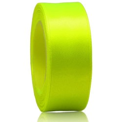 24mm Senorita Satin Ribbon - Grass Green 535