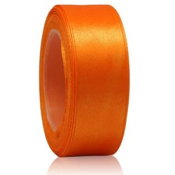 24mm Senorita Satin Ribbon - Orange 6