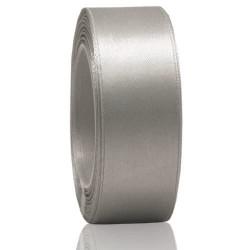 24mm Senorita Satin Ribbon - Light Grey 77