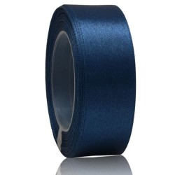24mm Senorita Satin Ribbon - Dark Blue A13