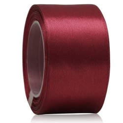 36mm Senorita Satin Ribbon - Maroon 028