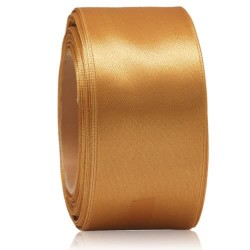 36mm Senorita Satin Ribbon - Dark Goldenrod 03