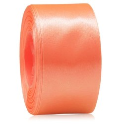 36mm Senorita Satin Ribbon - Coral 08