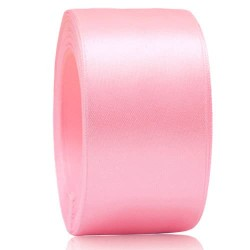 36mm Senorita Satin Ribbon - Light Pink 12