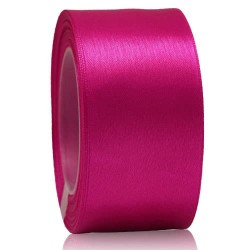 36mm Senorita Satin Ribbon - Fuchsia 17