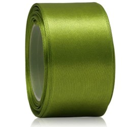 36mm Senorita Satin Ribbon - Olove Green 208