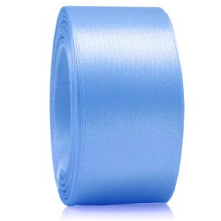 36mm Senorita Satin Ribbon - Sky Blue 22