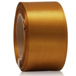 36mm Senorita Satin Ribbon - Classic Gold 226