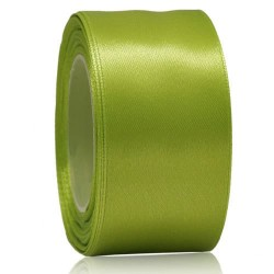 36mm Senorita Satin Ribbon - Lime 237