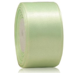 36mm Senorita Satin Ribbon - Mint Green 242